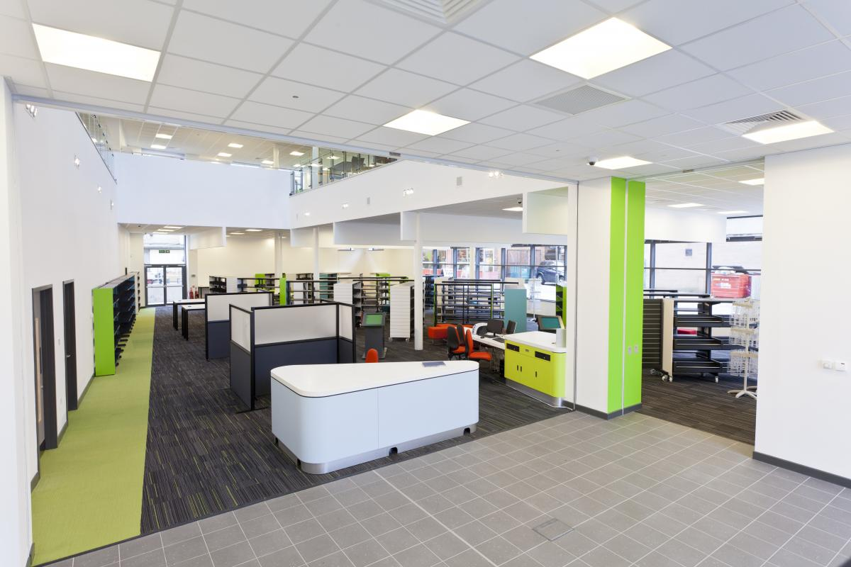 Whitley Bay Customer First Centre library