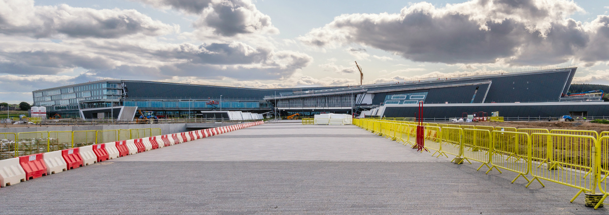 AECC Aberdeen Exhibition and Conference Centre progress
