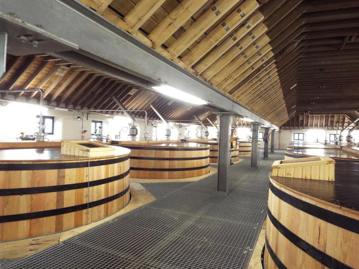 Glen Ord distillery washbacks