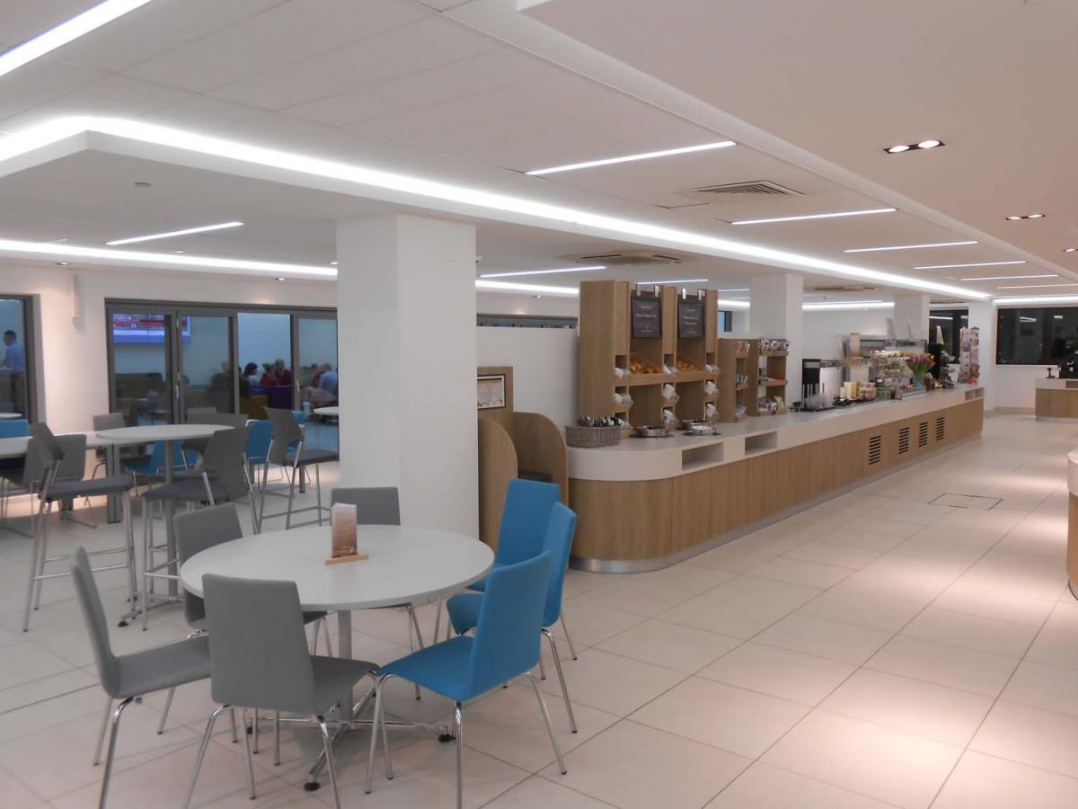 Depuy Synthes cafeteria