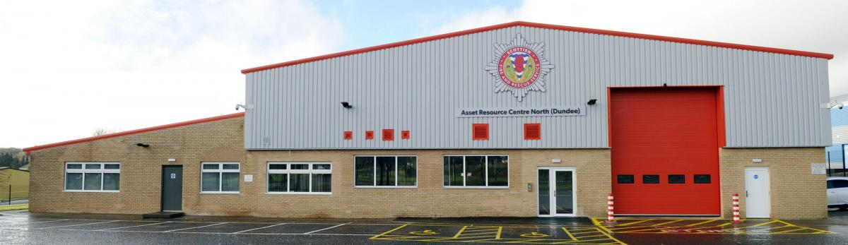 Scottish Fire Service Dundee Asset Resource Centre