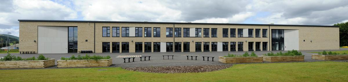Crieff Primary school exterior rear