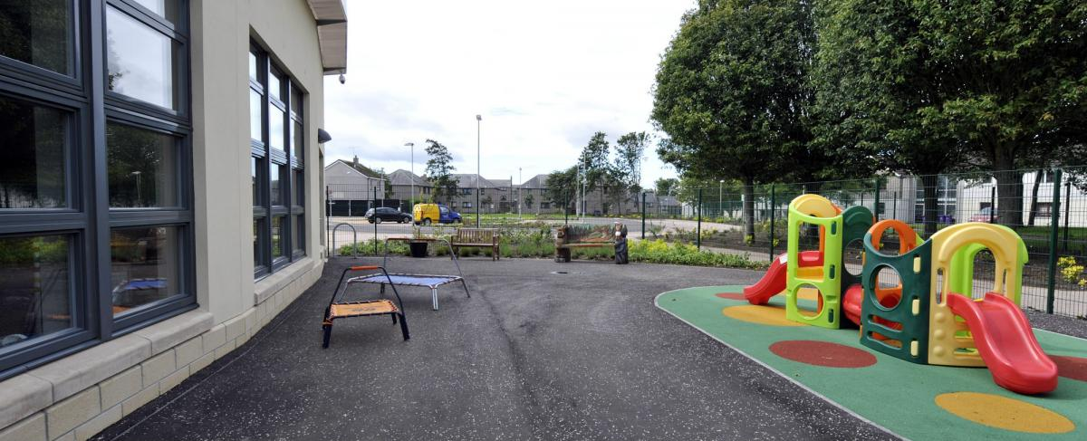 Timmergreens Primary play area