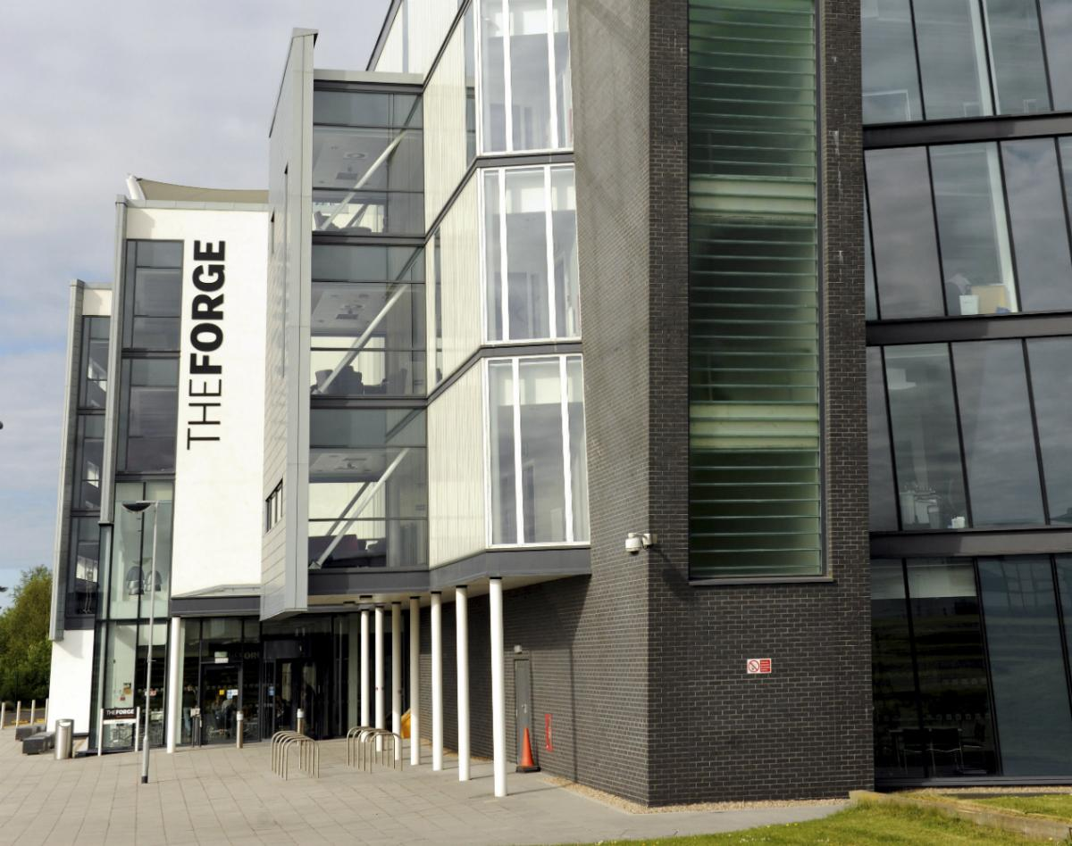 Teeside University The Forge business centre