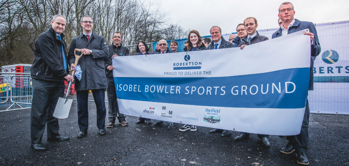 Isobel Bowler Sports Ground ceremony