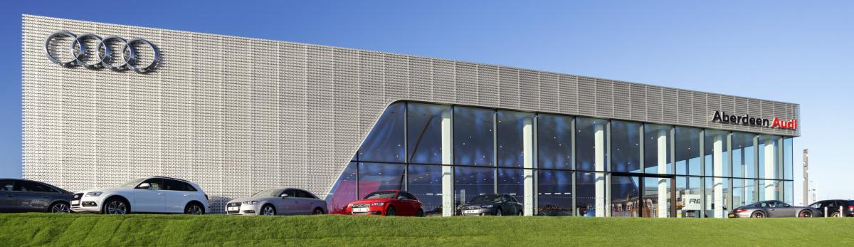 Audi dealership Aberdeen