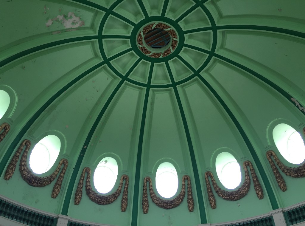 Whitley Bay Spanish CIty Dome original finish