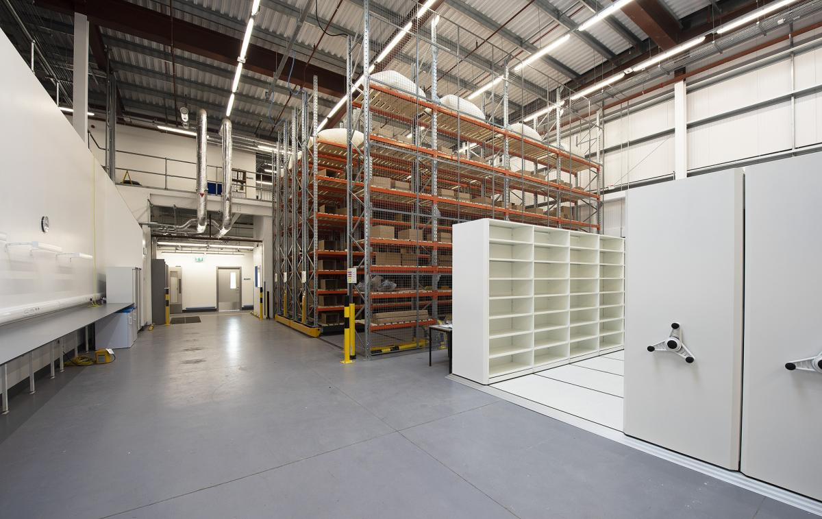 Construction of pharmaceuticals manufacturing facility for NHS Scotland