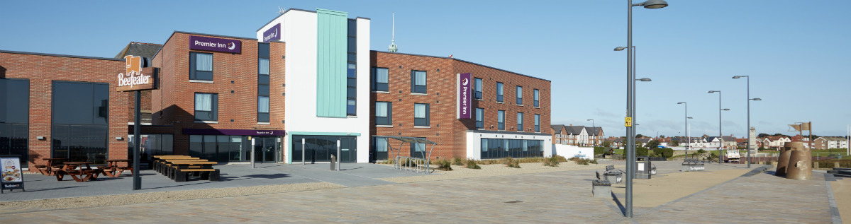 Premier Inn Whitley Bay main contractor