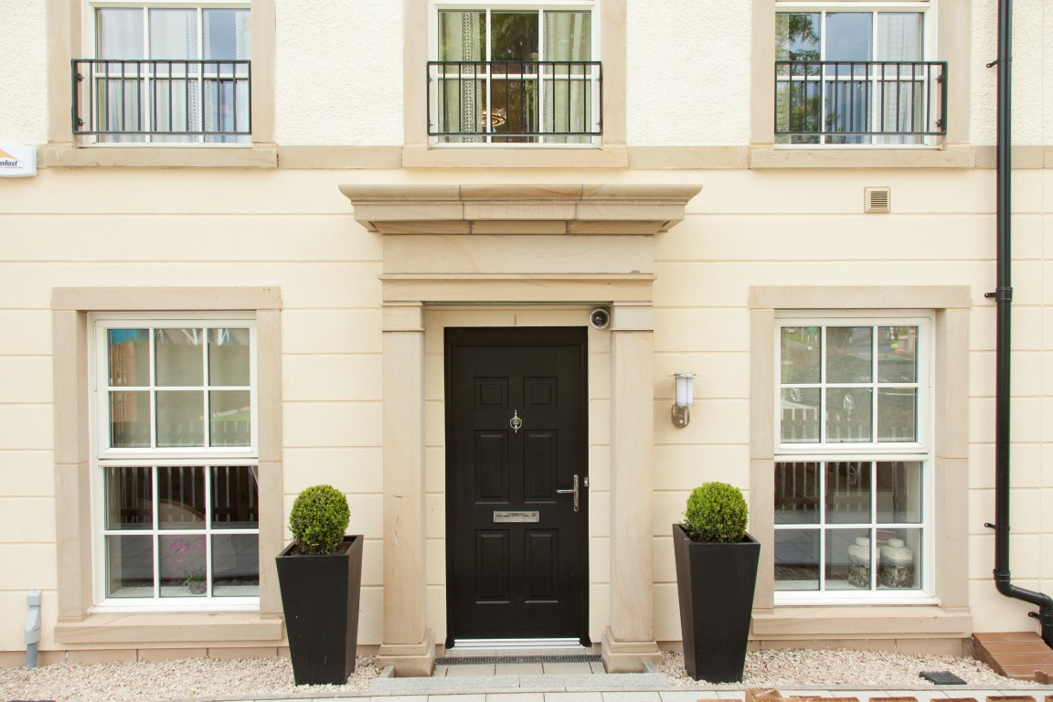 St Andrews Abbey Park townhouse front