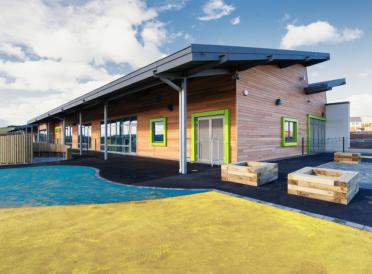Robertson construction of Primary School education sector in Aberdeenshire Scotland