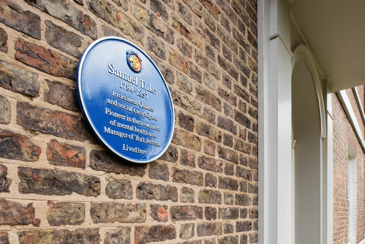 Samuel Tuke blue plaque