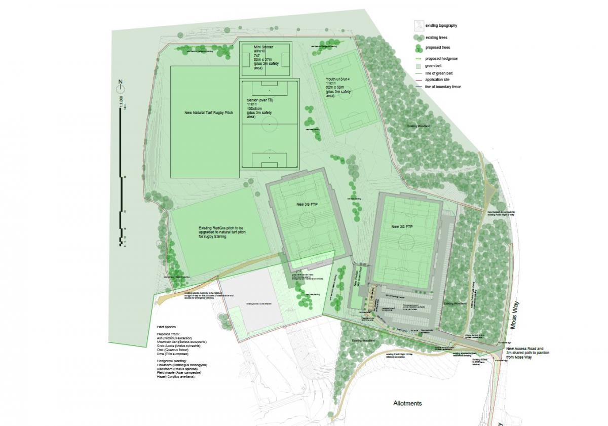 Isobel Bowler Sports Ground site overview