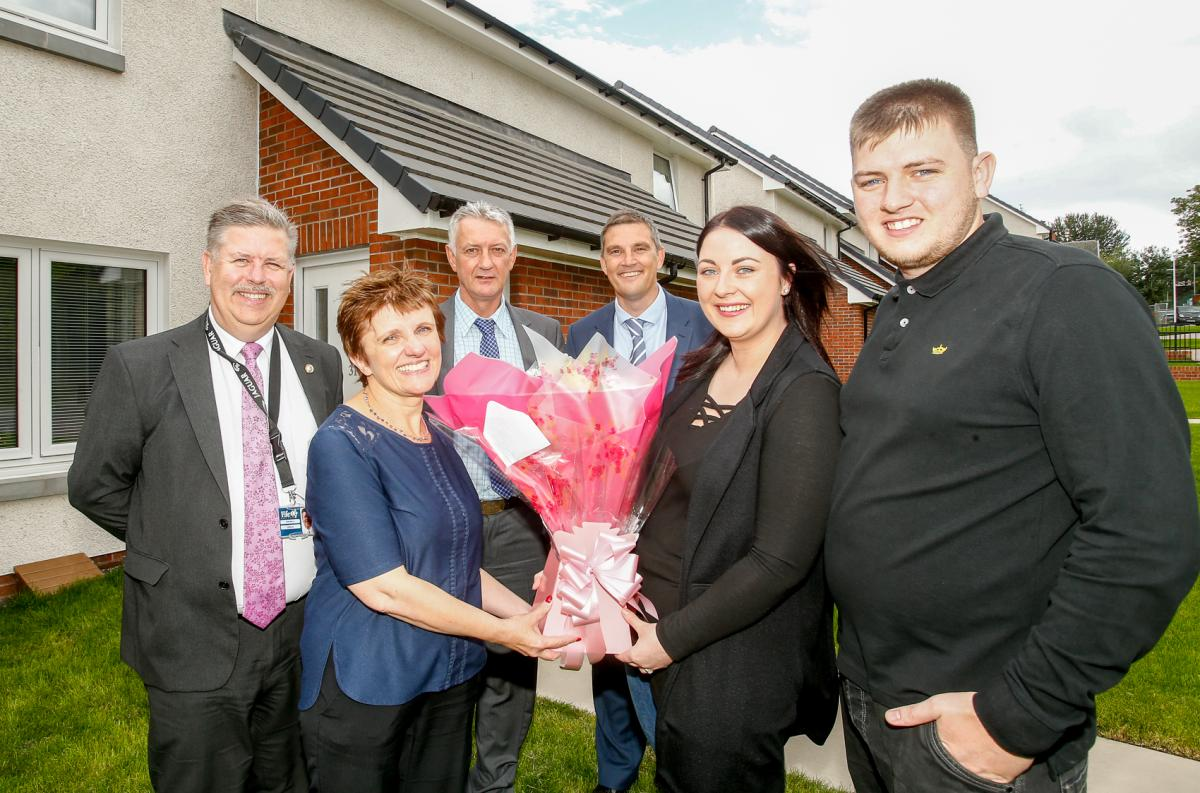 Methil Brae council housing handover