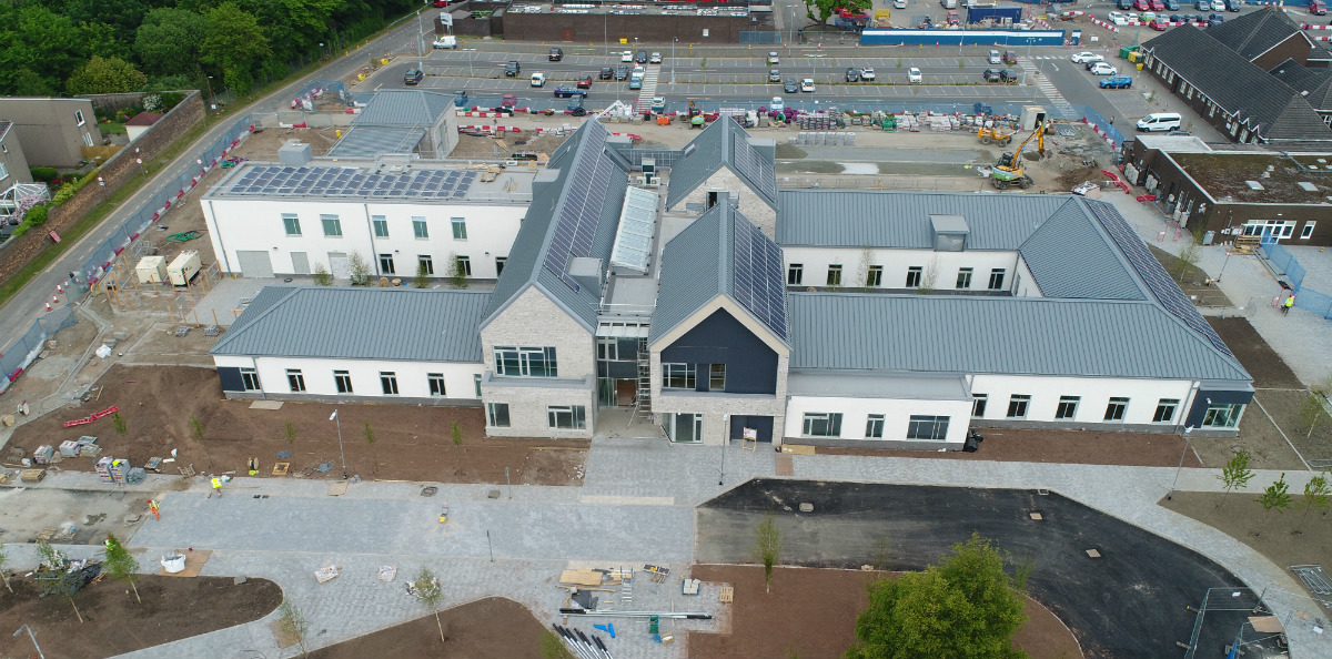 Construction of Stirling Health and Care Village - primary care centre