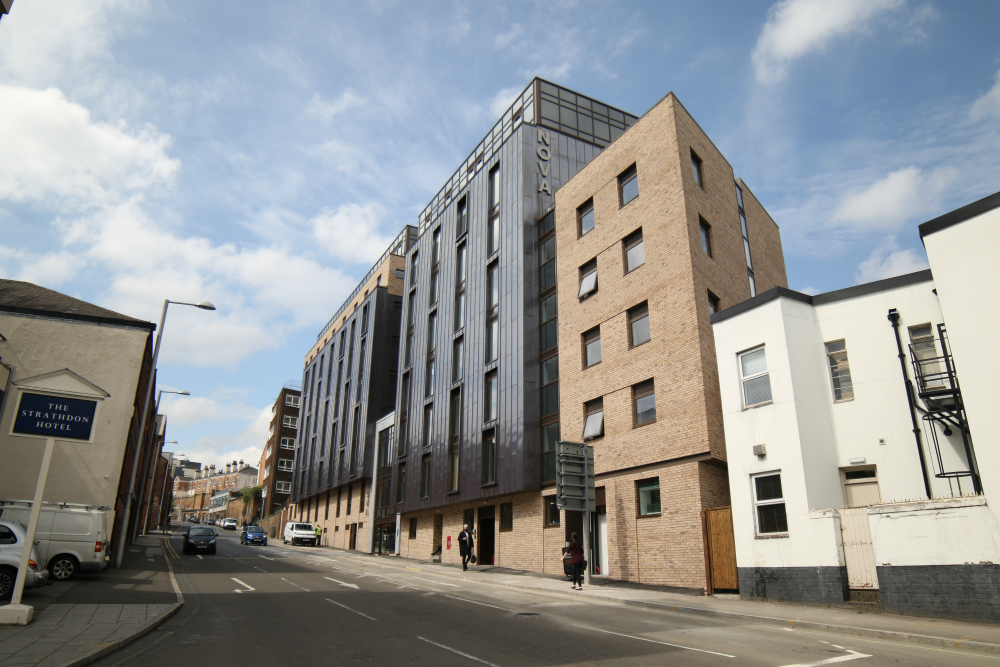 Main contractor delivery of student accommodation