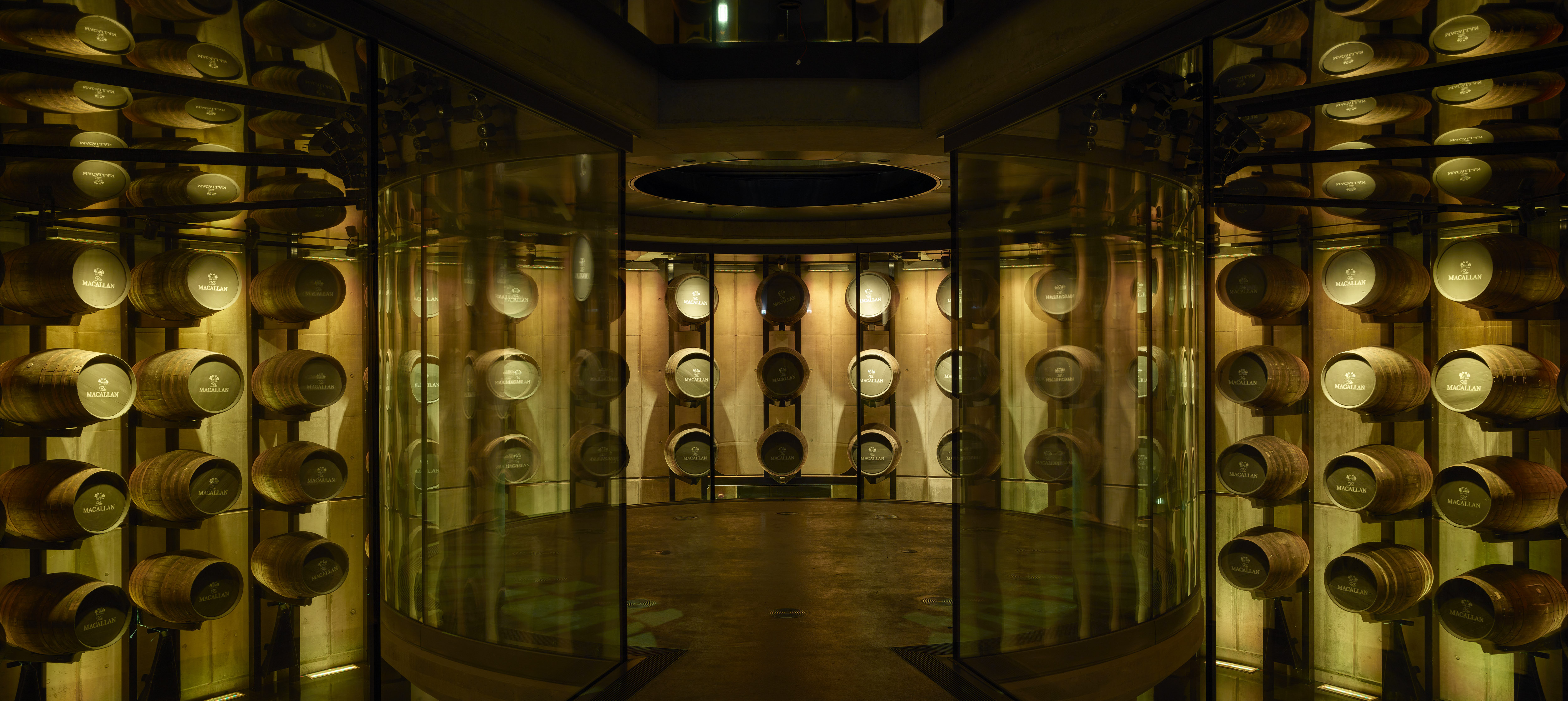 The Macallan distillery - whisky maturation
