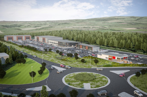 Tyneview Retail Park Plan
