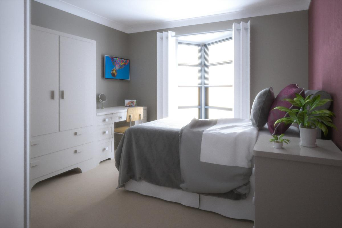 Haven Court typical bedroom
