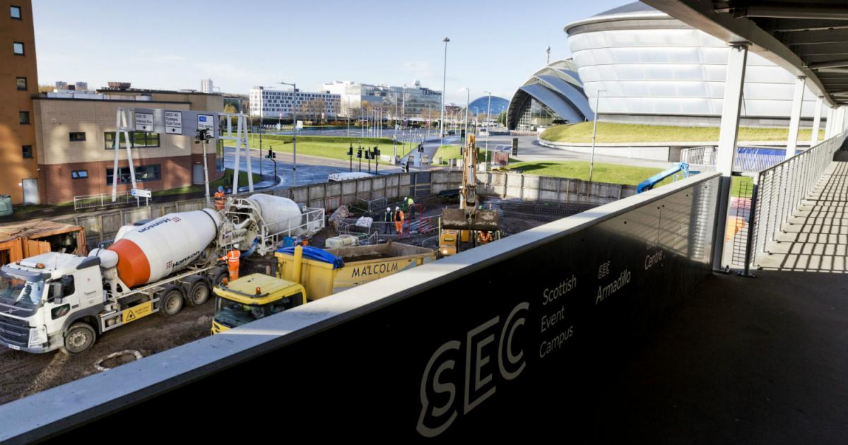 Main contractor Robertson construction of two hotels near SEC SSE Hydro