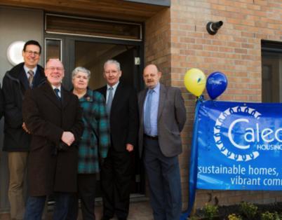 Housing Minister officially opens Kippen...
