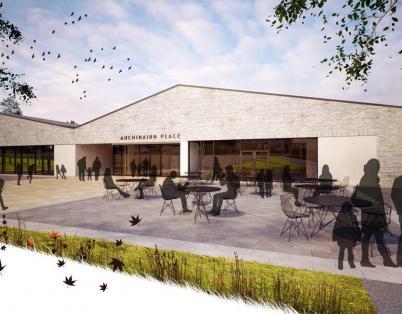 New Auchinairn community facility