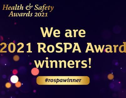 Robertson receives three RoSPA Awards, i...