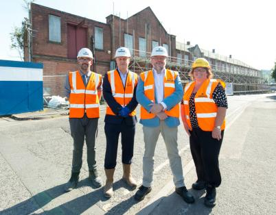 Work to start on new care centre and lib...