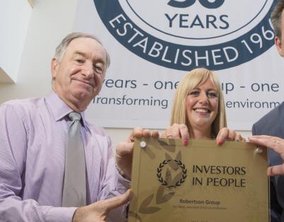 Robertson achieves Investors in People G...