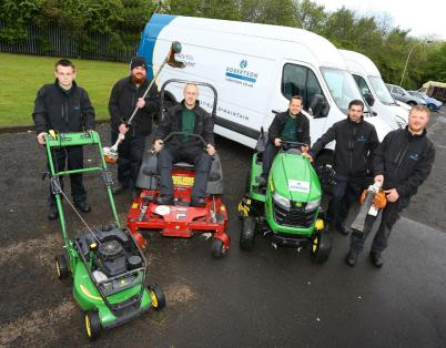 Back to the floor: Grounds Maintenance