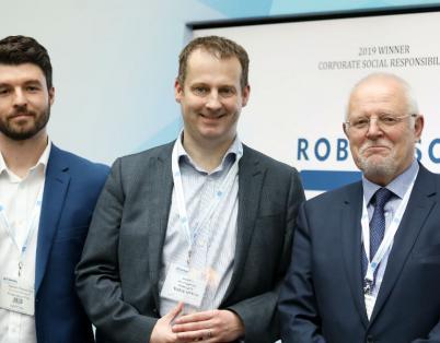 Robertson triumphs at CSSA awards