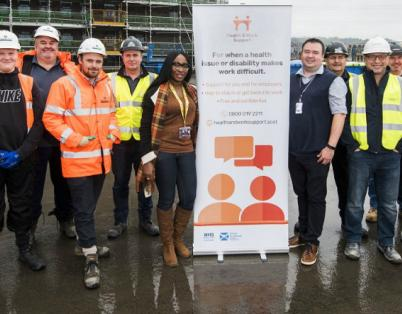 Robertson supports workforce with wellbe...