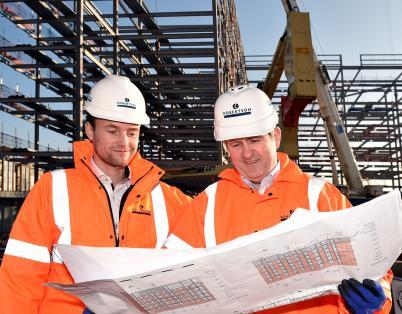 Key milestone on £19m student developme...