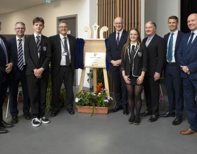 Deputy First Minister opens Baldragon Ac...