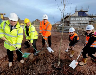 Scotland's first affordable rented hom...