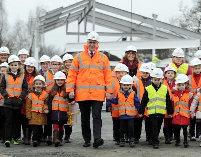 Work underway at two Perthshire schools