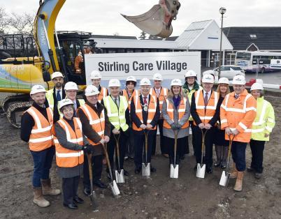 Work starts on new Stirling Care Village
