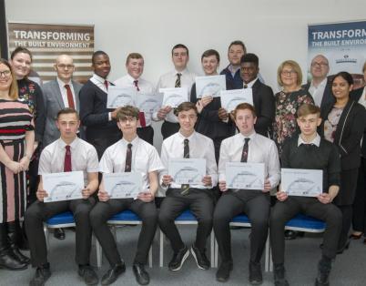 Glasgow pupils kick-start careers in con...