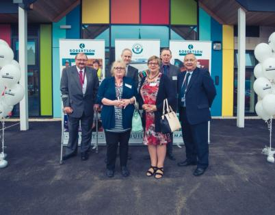 Opening celebration for Goldthorpe Prima...