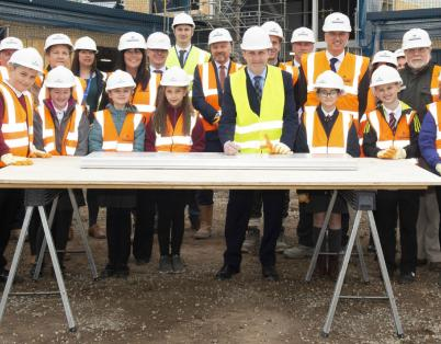 Arbroath primary schools project reaches...