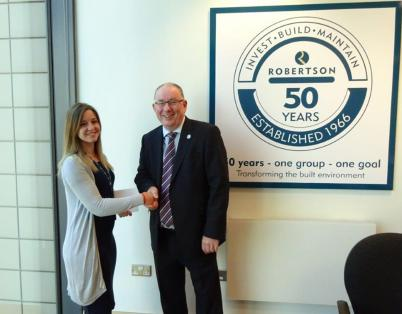Robertson North East makes 50th hire