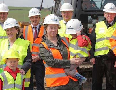 Work officially begins at NHS Orkney