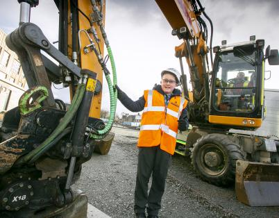 St Andrew's School pupil to enjoy work...