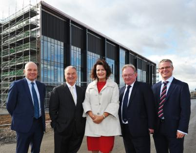 Topping out ceremony for new £32.5m Ber...