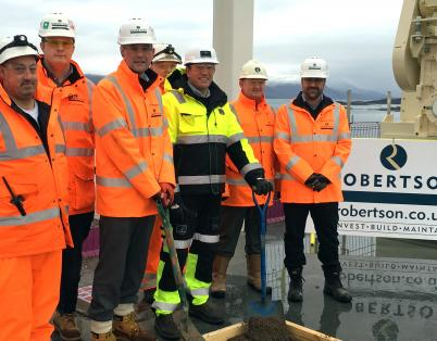 Topping out ceremony held at £25m Skye ...