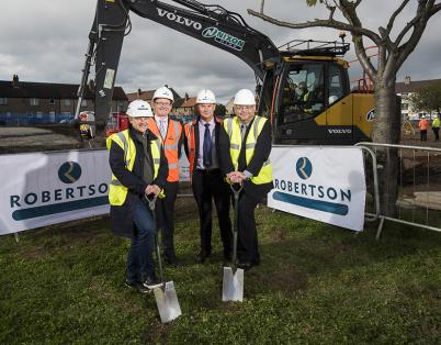 Robertson begins work on new £2.5m Dund...