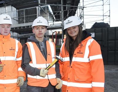 Edinburgh students build their futures