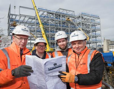 Dundee students get a taste of the built...