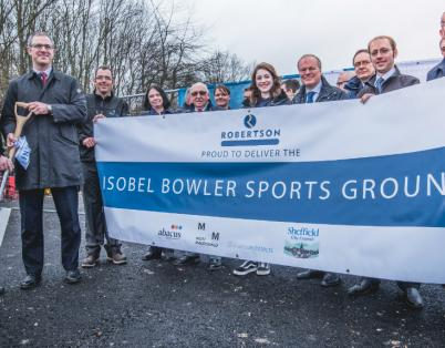 Breaking ground at Isobel Bowler sports ...