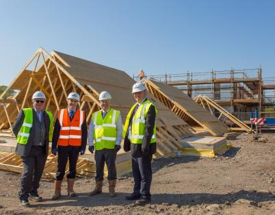Halfway point for Methil housing develop...
